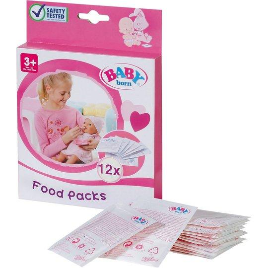 Baby Born Dukketilbehør Mat 12 Poser