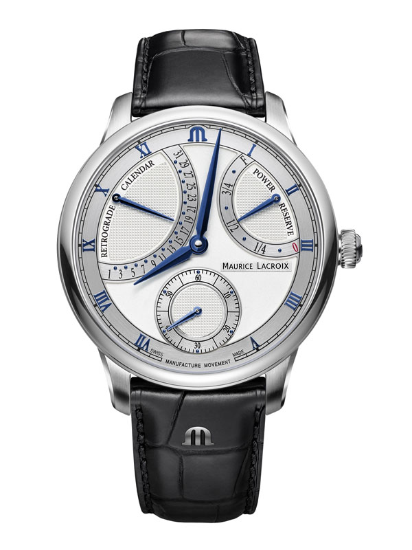 Maurice Lacroix Masterpiece Calender Retrograde 43mm MP6568-SS001-132-1