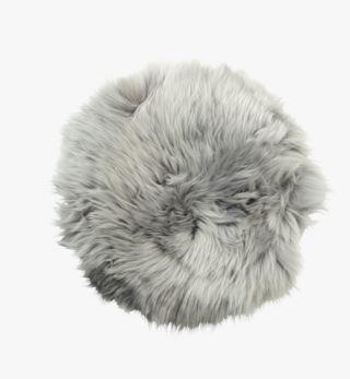 Longwool istuinalusta harmaa