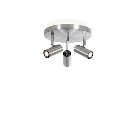 Cato LED 3-spot Alu m/Raking light