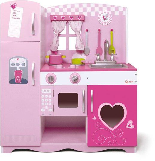 Classic World Minikjøkken, Rosa