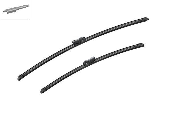 Flatbladesats A256S 700/550