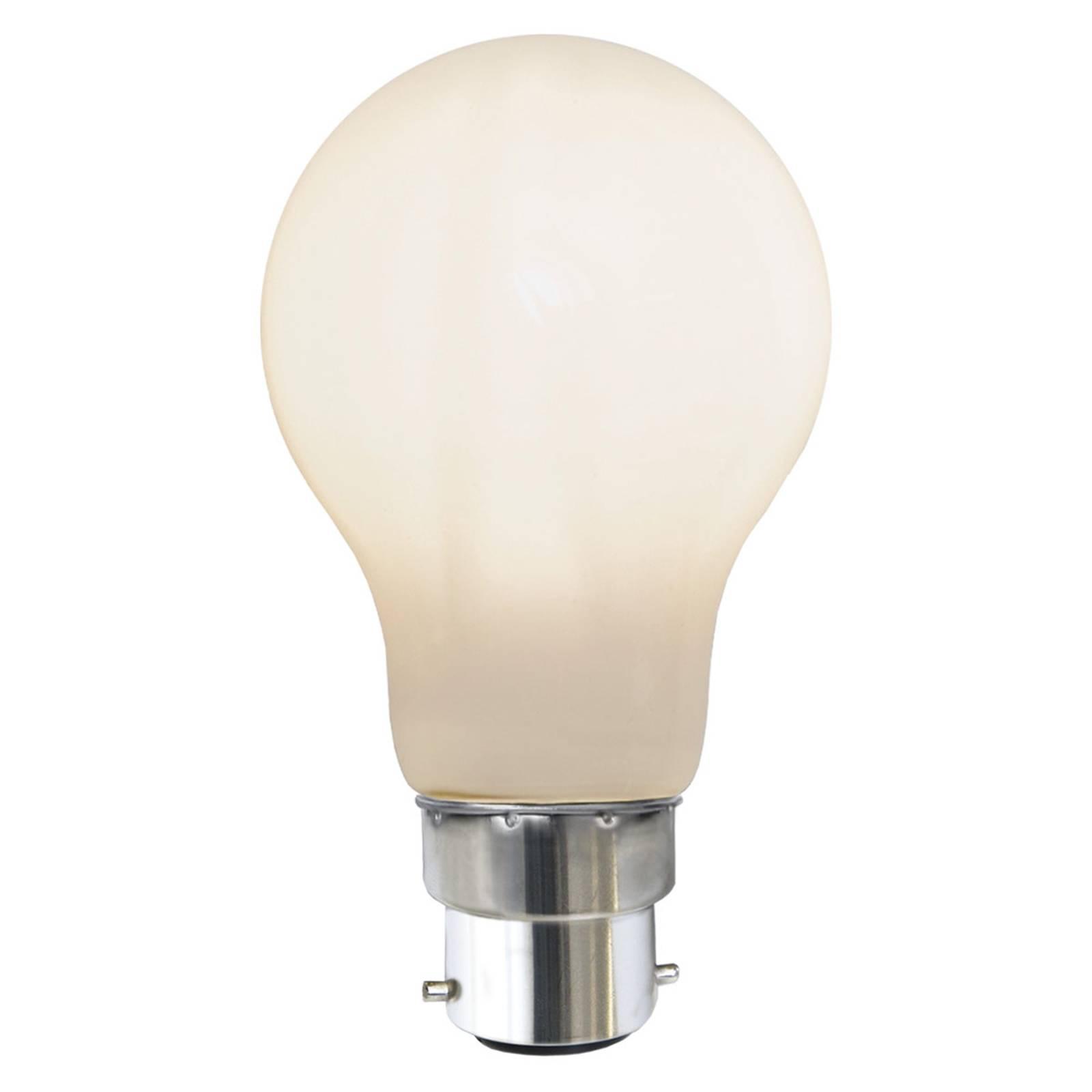 LED-lamppu B22 7,5W 2 700 K Ra90 opaali