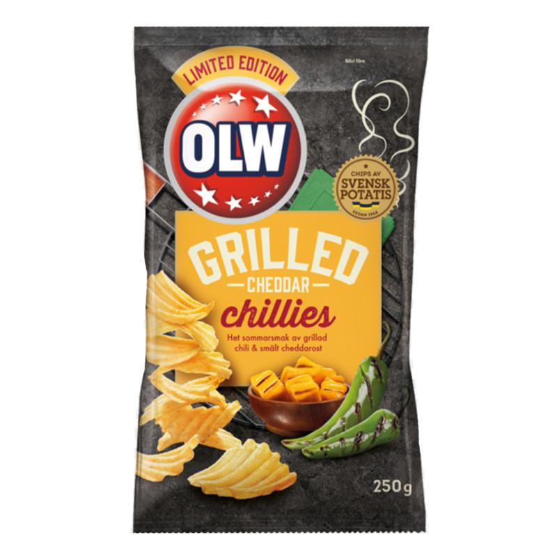 Chips Grilled Cheddar Chillies - 58% rabatt