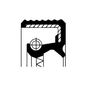 Oljepackningsring, hjullager, Bakaxel, Inre, Bakaxel, båda sidor