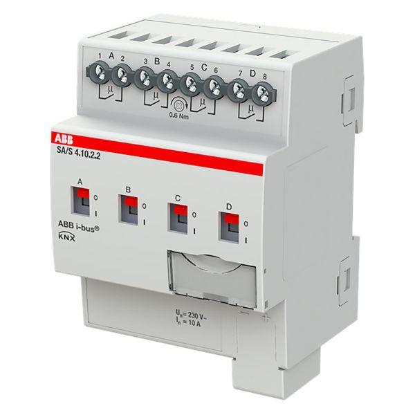 ABB 2CDG110258R0011 Tulo-/lähtöyksikkö KNX, 230 V, 10 A Kytkinliitäntöjen enimmäismäärä: 4