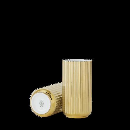 Vase Porselen Gull 20,5cm