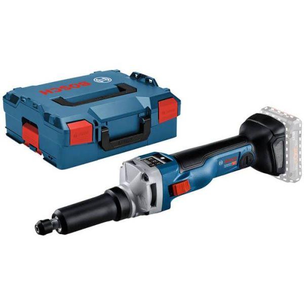 Bosch GGS 18V-10 SLC Rettsliper uten batteri og lader, med L-BOXX