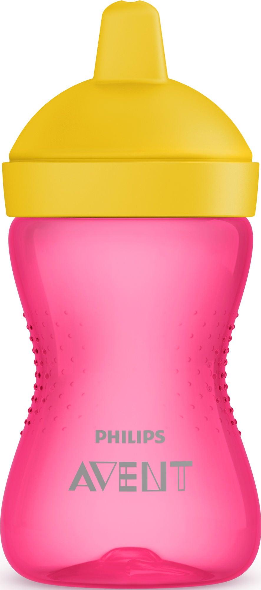 Philips Avent Kovanokkainen Muki 300 ml 12 kk+, Pinkki/Keltainen