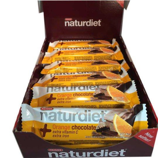 Hel låda Naturdiet Mealbar Orange Chocolate - 58% rabatt