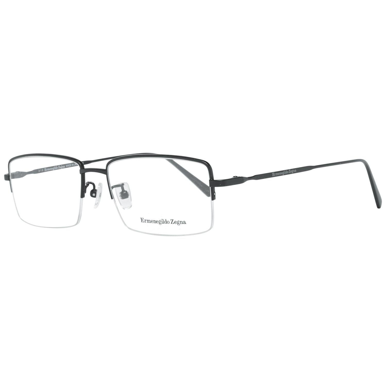 Ermenegildo Zegna Men's Optical Frames Eyewear Black EZ5066-D 54002