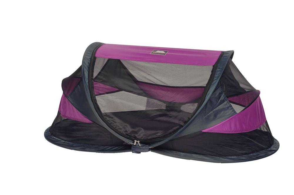 Deryan - Travel Cot Baby - Deluxe Purple