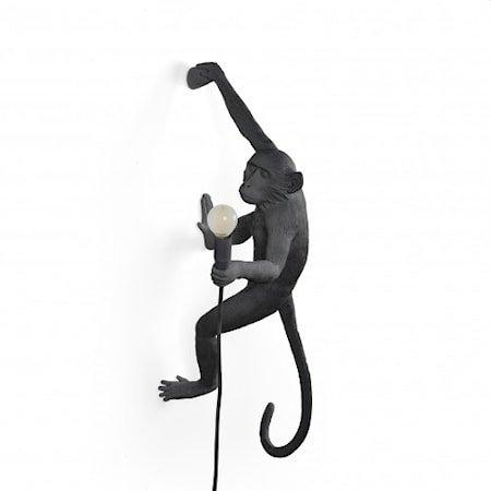 Monkey Lamp Utendørs Hengende Høyre Svart