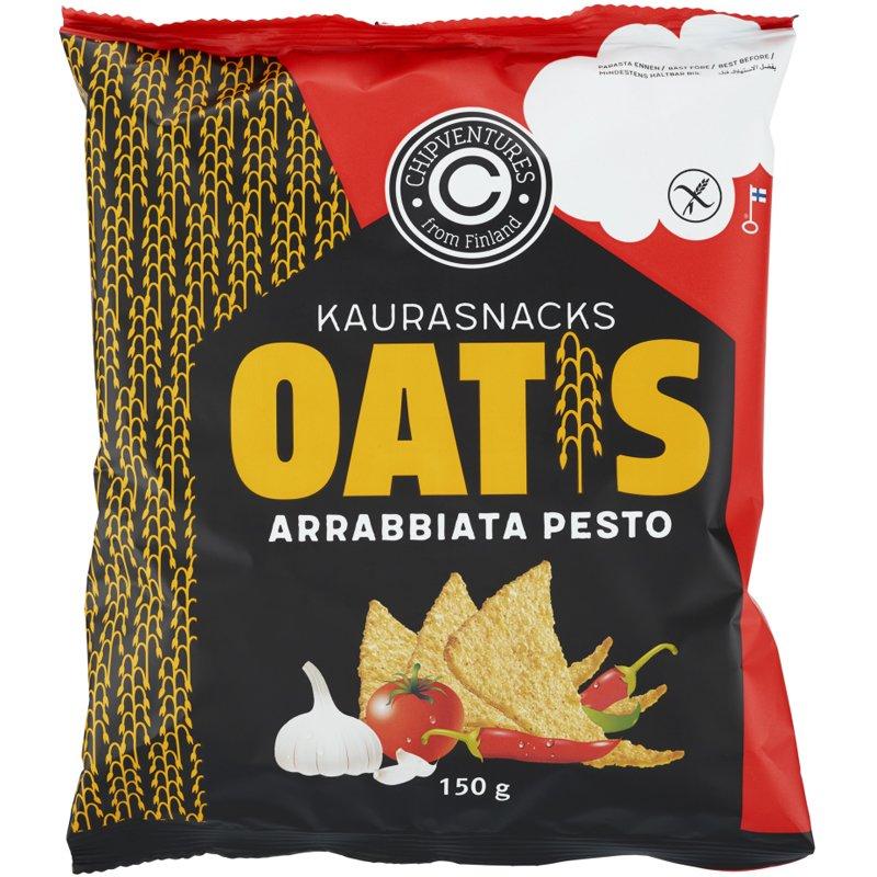 Kaurasnacks Arrabbiata Pesto - 39% alennus