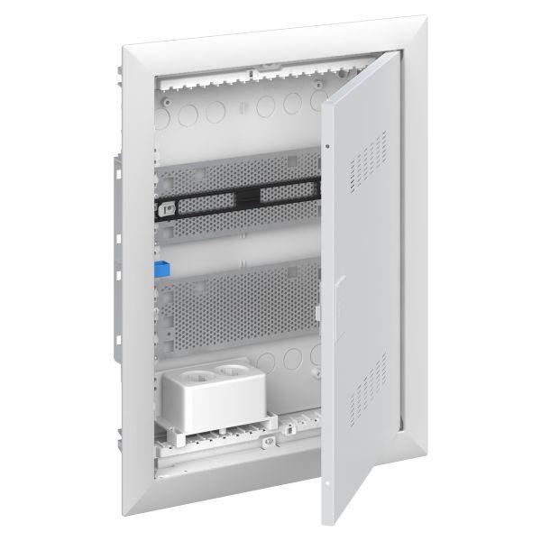 ABB UK600 2CPX031390R9999 Vakiokeskuskotelo ilmastoitu ovi 2-rivinen