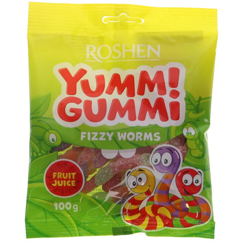 Godis Fizzy Worms - 17% rabatt