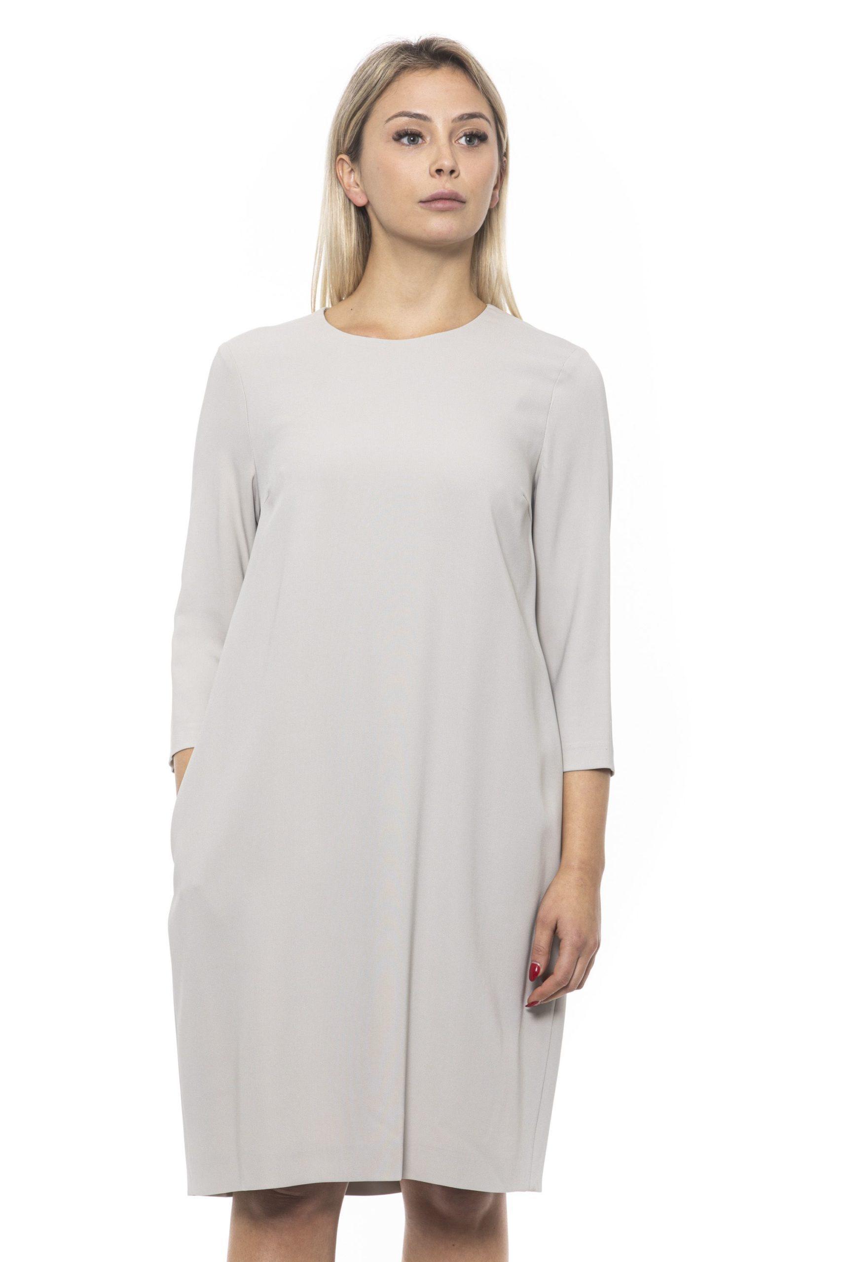 Peserico Women's Dress Beige PE1383141 - IT42 | S