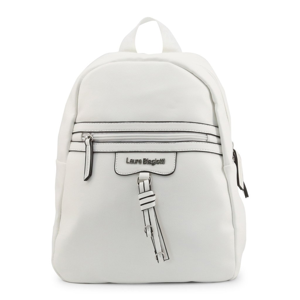 Laura Biagiotti Women's Backpack White Ramsey_103-4 - white NOSIZE