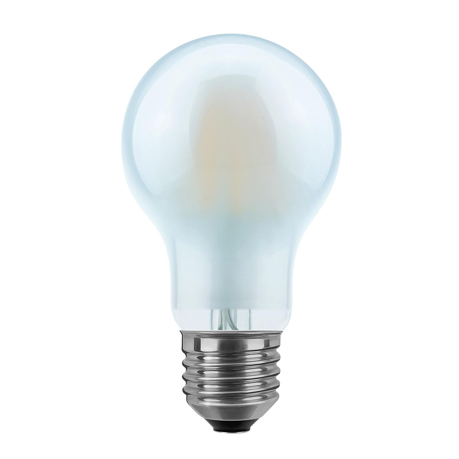 LED-lamppu E27 8W 2 700 K, päärynämuotoinen, matta