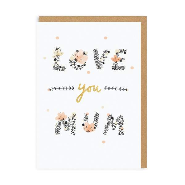 Love You Mum Greeting Card
