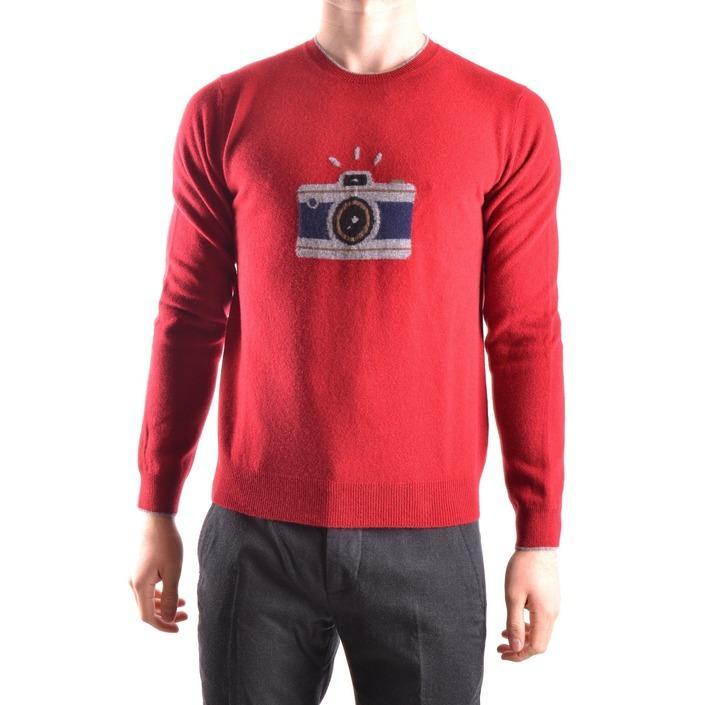 Altea Men's Sweater Red 160733 - red S
