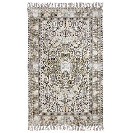 Teppe i bomull Mønster 180x280 cm