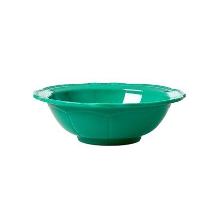 Skål 15 cm Melamin Mørkegrønn