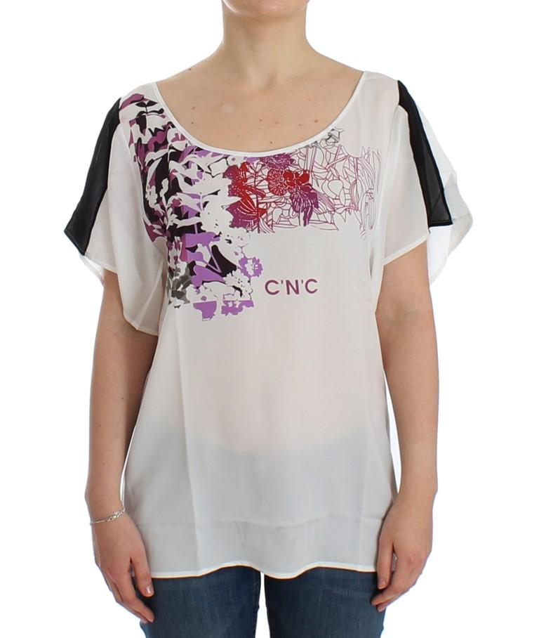 Costume National Women's Top White SIG12529 - S
