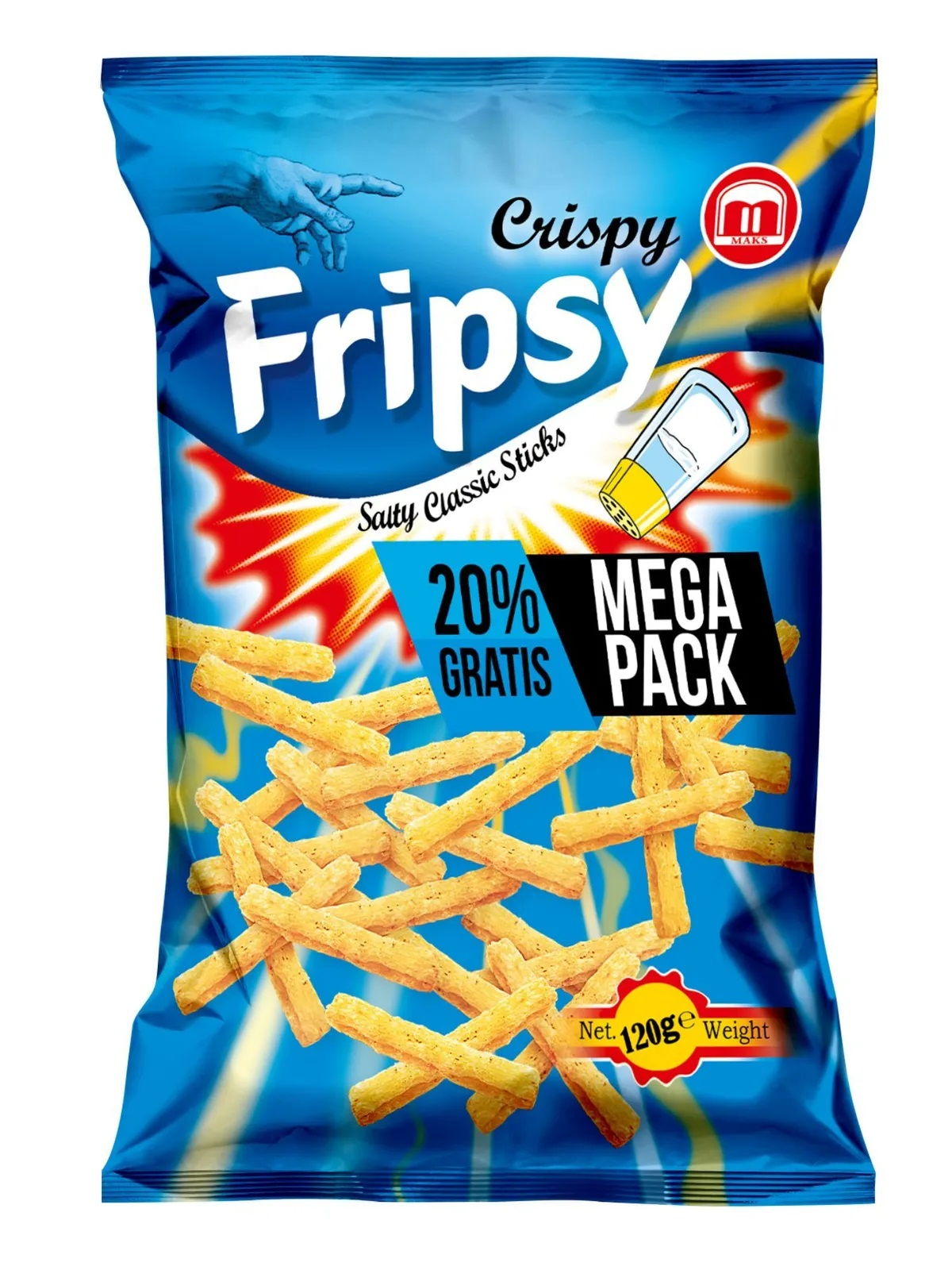 Crispy Fripsy Salt 120g