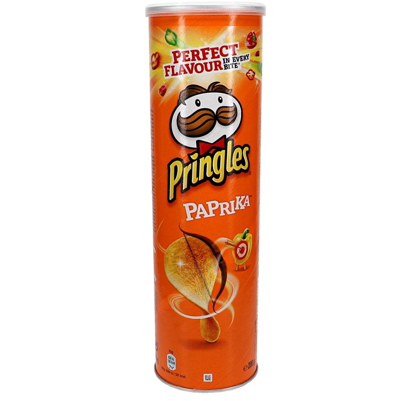 Pringles Paprika - 15% rabatt