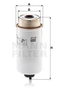 Polttoainesuodatin MANN-FILTER WK 8120