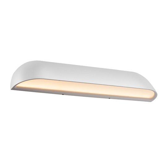 LED-ulkoseinävalaisin Front 36, valkoinen