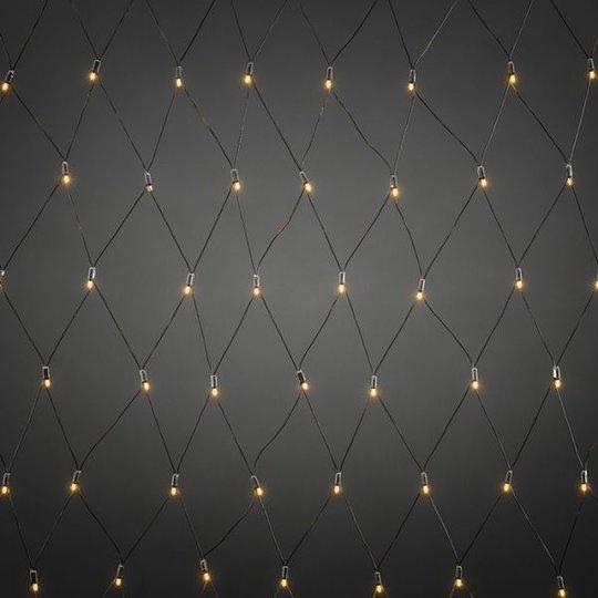 Konstsmide 4940-817 LED-verkko aloitussarja musta, 104 valopistettä