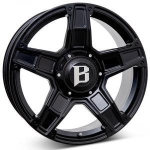 Ballistic Dakota Black 9x20 5/139.7 ET20 B78.1