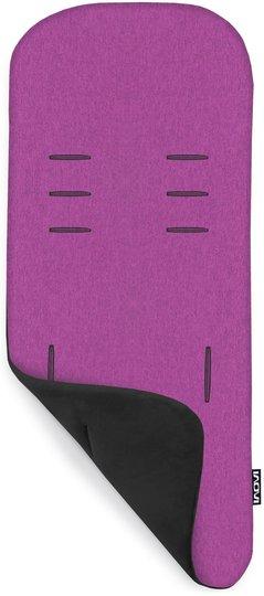 Inovi Memory Foam Sittepute Vendbar, Black/Purple Melange