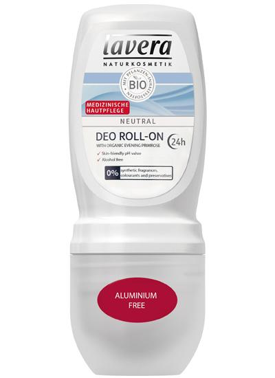 Lavera Neutral Deodorant Roll On 24h