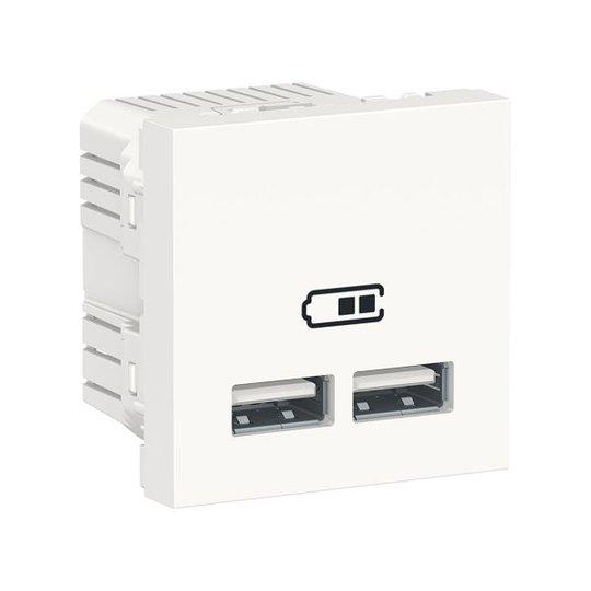 Schneider Electric NU341818 USB-laturi Unica System+:aan