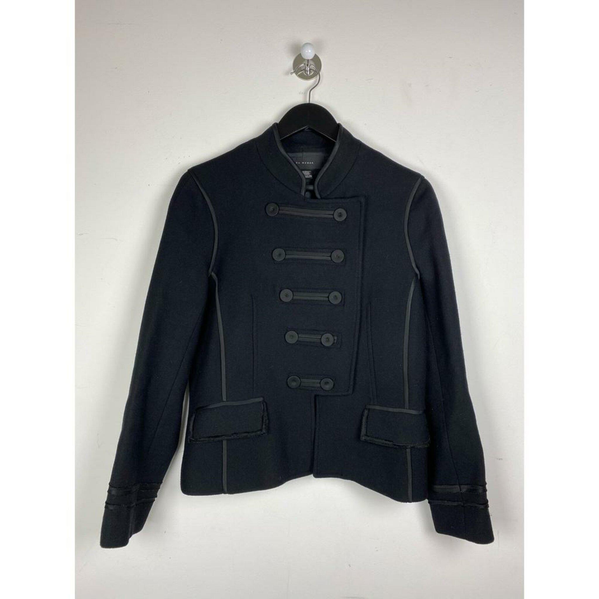 Wool Bouclé Jacket by Zara, L