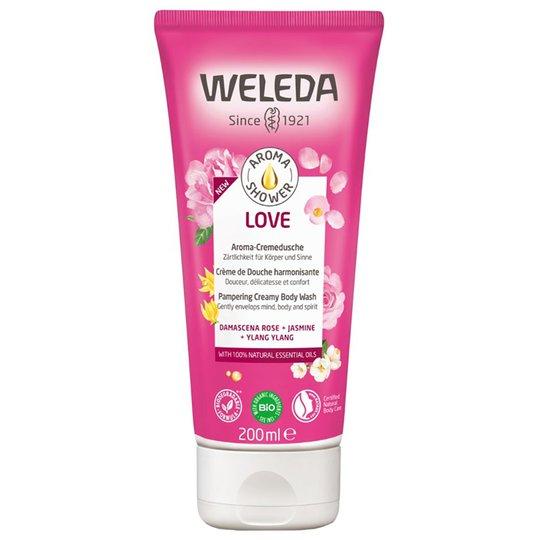 Aroma Shower Love, 200 ml Weleda Saippuat