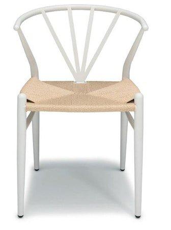 Delta stol – Hvit