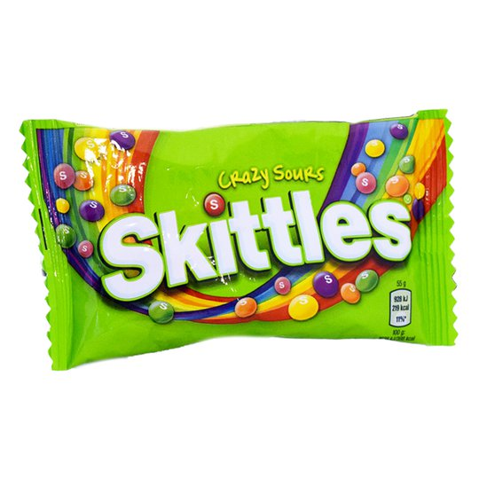 Skittles Crazy Sours - 66% rabatt