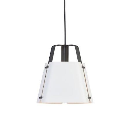 Fold Pendel Antrasitt/Hvitstruktur 27 cm