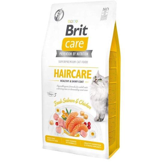 Brit Care Cat Grain Free Haircare Healthy & Shiny Coat (7 kg)