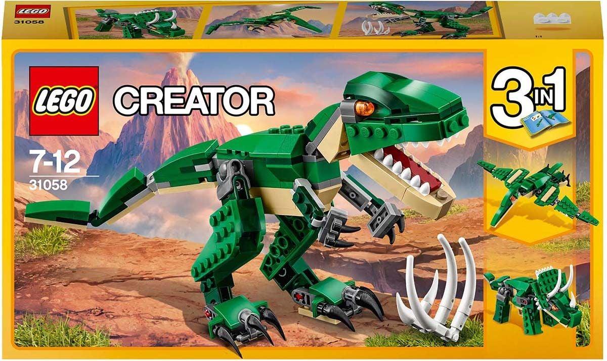 31058 LEGO Creator 3-in-1 Mahtavat Dinosaurukset