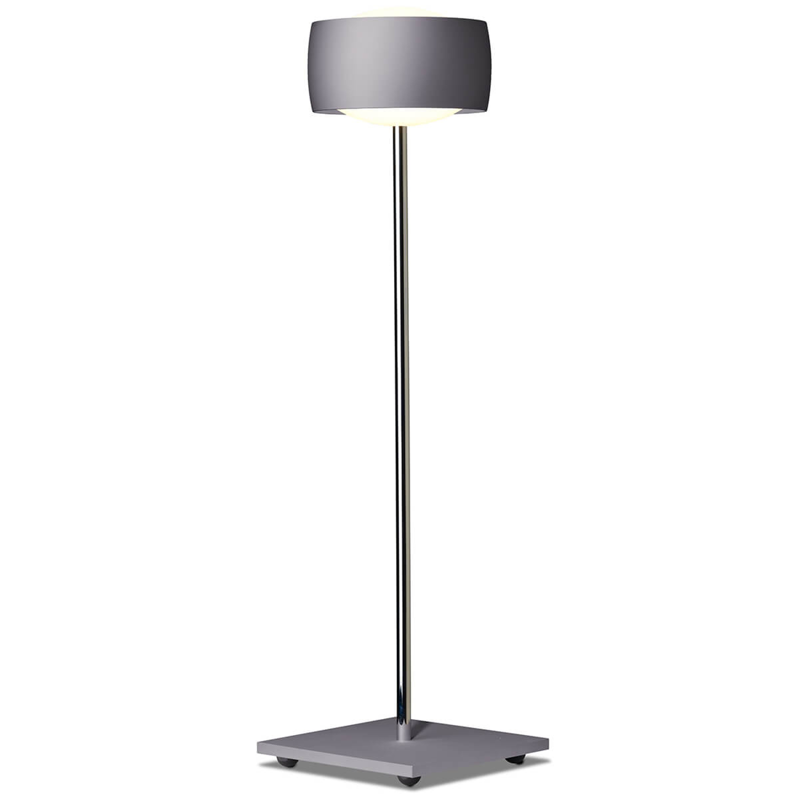 Eleohjauksella - LED-pöytälamppu Grace harmaa