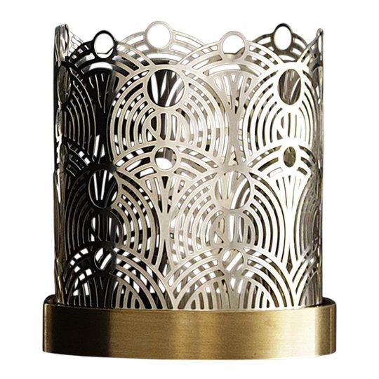 Skultuna - Bohinc Lunar Ljuslykta 7 cm Silver