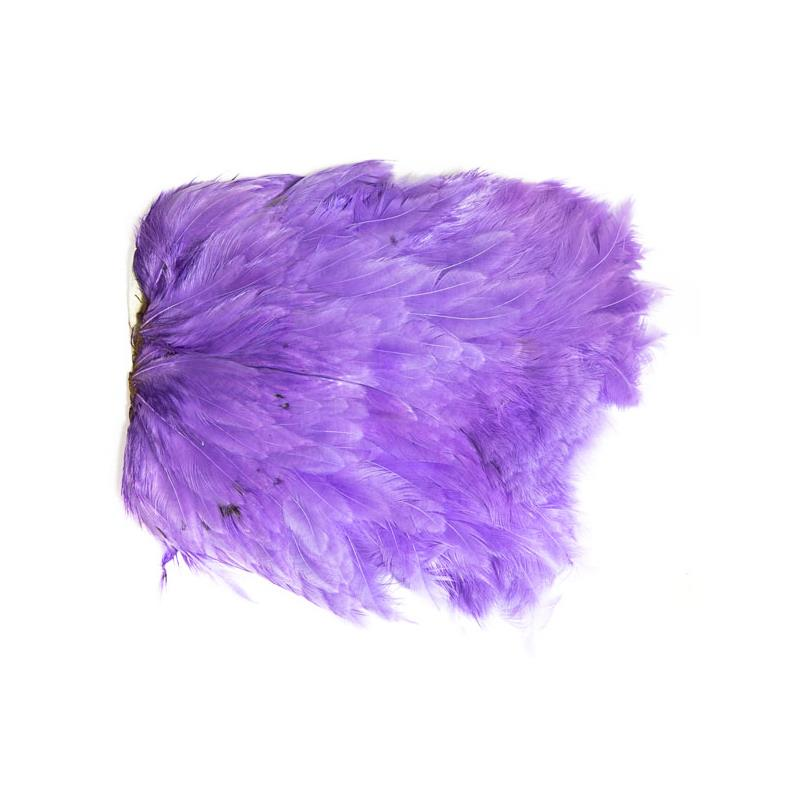 Softhackle patch Purple