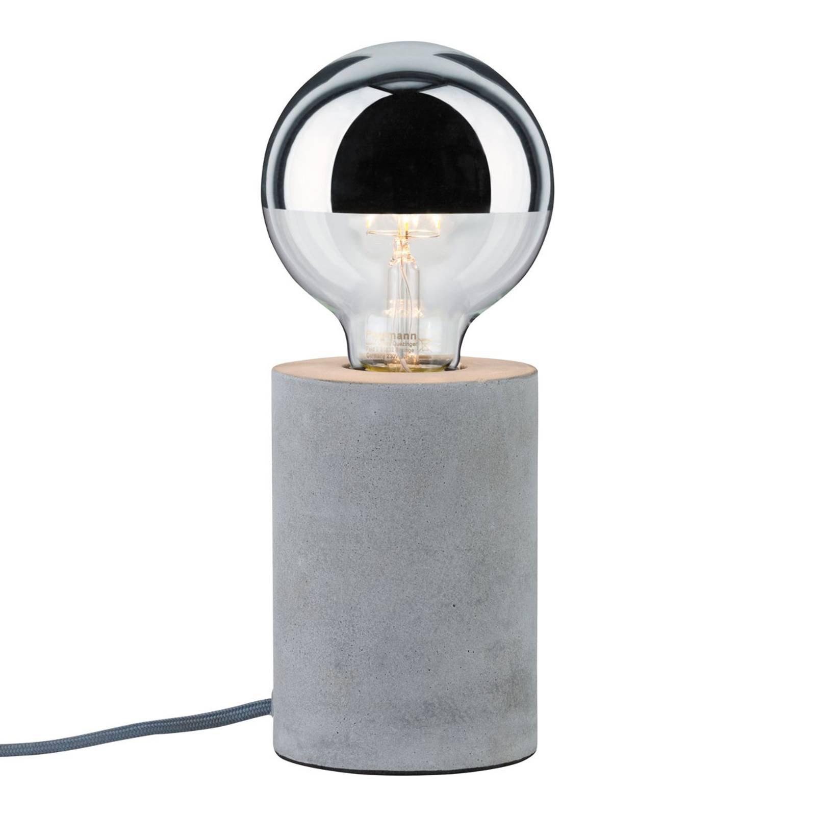 Paulmann Mik bordlampe i betong