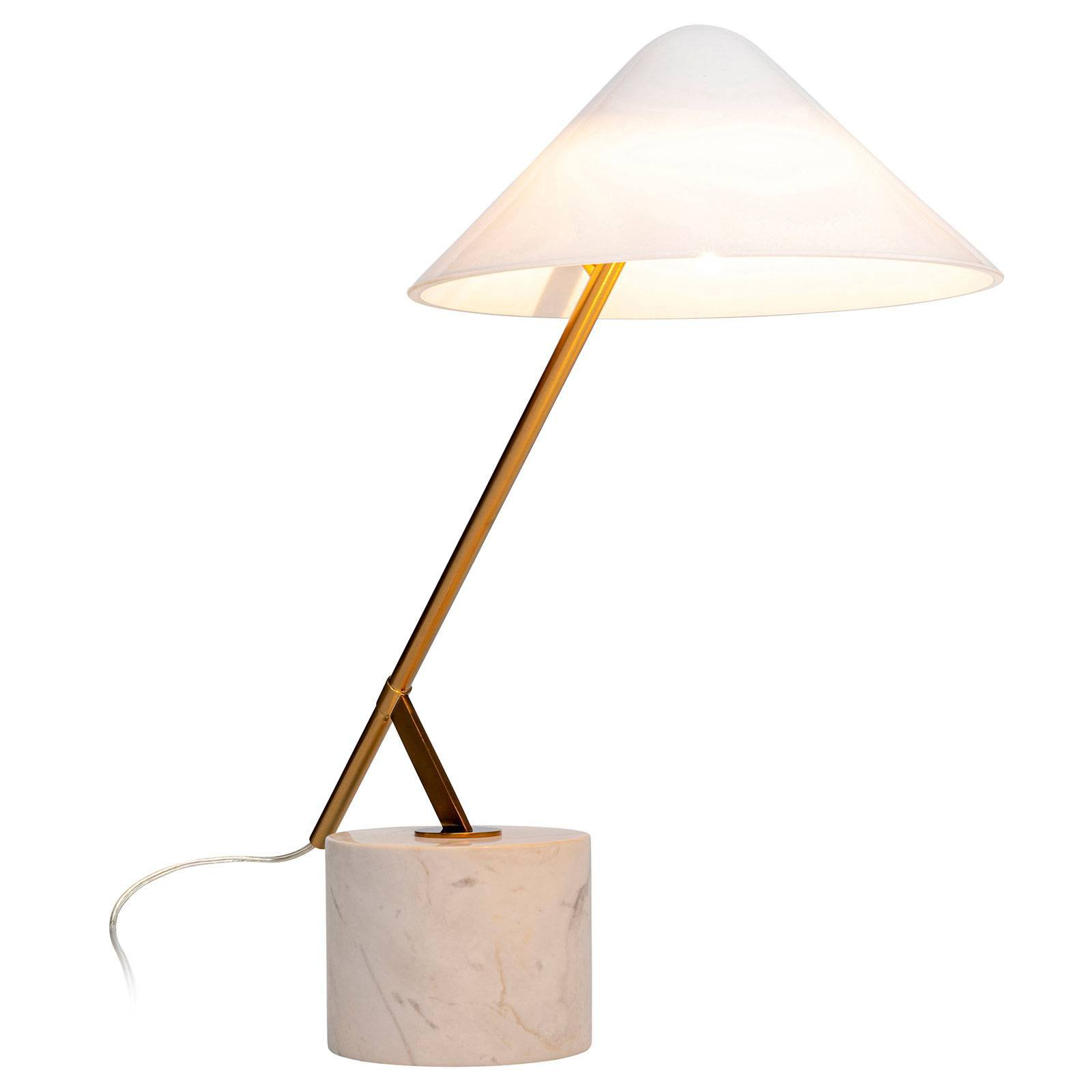 KARE Soul Marble bordlampe, roterbar
