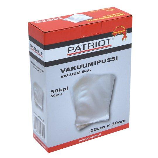 Patriot vakuumpåse 20cm x 30cm 50st/pkt
